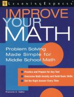 Improve your Math