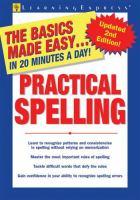 Practical Spelling