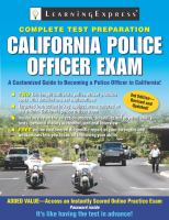 California Police Officer Exam
