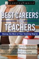 Best Careers for Teachers