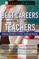 Best Careers for Teachers