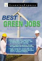 Best Green Careers