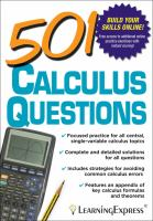 501 Calculus Questions