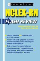 NCLEX-RN Flash Review