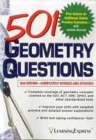 501 Geometry Questions