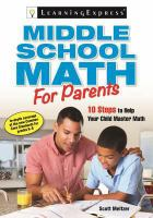 Middle School Math for Parents