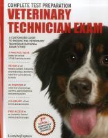 Veterinary Technician Exam