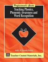 Teaching Phonics, Phonemic Awareness, and Word Recognition