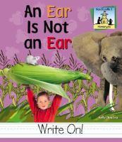 An Ear Is Not An Ear