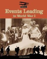 Events Leading to World War I