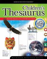 The McGraw-Hill Children's Thesaurus