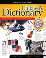 The McGraw-Hill Children's Dictionary