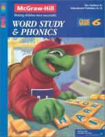 Spectrum Series Phonics and Word Study