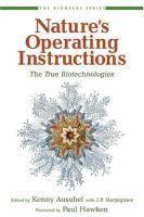 Nature's Operating Instructions