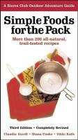 Simple Foods for the Pack