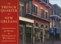 The French Quarter of New Orleans