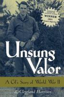 Unsung Valor
