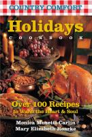Country Comfort Holidays : Cookbook