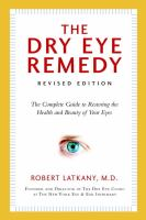 The Dry Eye Remedy