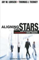 Aligning the Stars