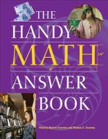 The Handy Answer Book Series: The Handy Math Answer Book
