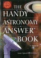 The Handy Astronomy Answer Book