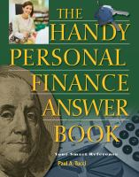 The Handy Personal Finance Answer Book