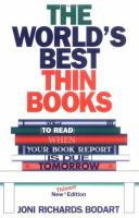 The World's Best Thin Books