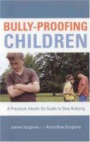 Bully-proofing Children