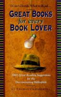 Great Books for Every Book Lover