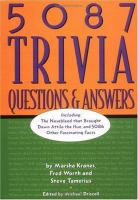5087 Trivia Questions and Answers