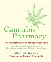Cannabis Pharmacy