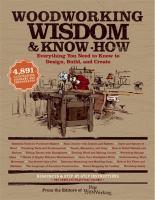 Woodworking Wisdom & Know-how