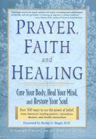 Prayer, Faith, and Healing