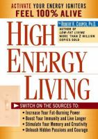 High-energy Living