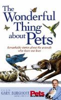 The Wonderful Thing About Pets