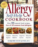 The Allergy Self-help Cookbook