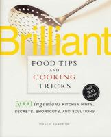 Brilliant Food Tips And Cooking Tricks