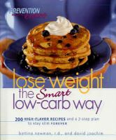 Lose Weight the Smart Low-carb Way
