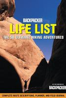 Backpacker Life List