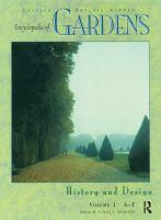 Encyclopedia of Gardens