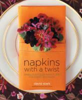 Napkins With A Twist