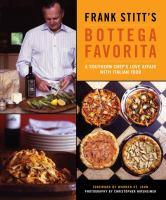 Frank Stitt's Bottega Favorita