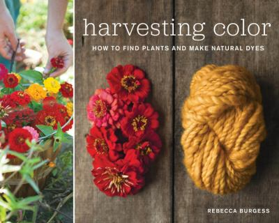 Harvesting color book cover