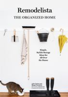A Remodelista Manual - The Art of Order