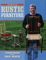 Simple Rustic Furniture