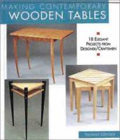 Making Contemporary Wooden Tables