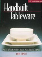 Handbuilt Tableware