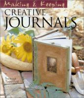 Making and Keeping Creative Journals