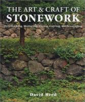 The Art & Craft of Stonework